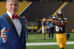 Pepsi Antonio Brown commercial