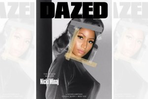 Nicki Minaj DAZED Magazine