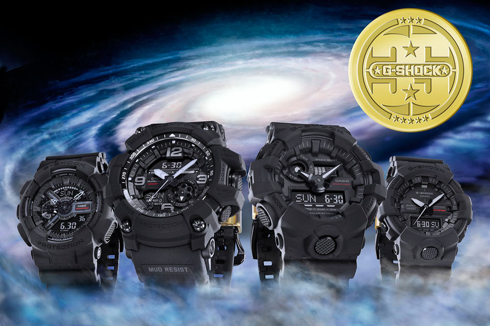 G-Shock Big Bang Black Collection For 35th Anniversary