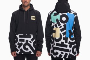 Aaron De La Cruz x 686 Waterproof Hoody