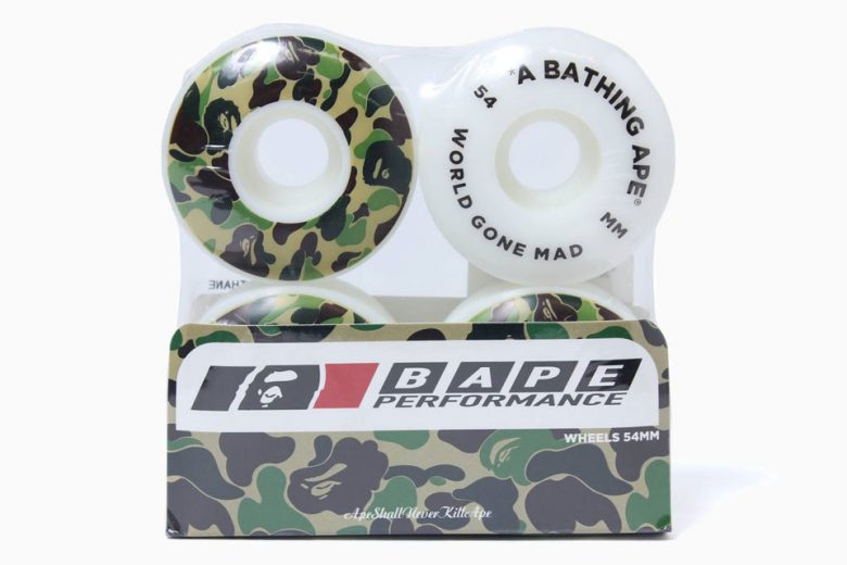 BAPE Camo Skateboards