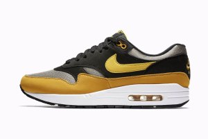 Nike Air Max 1 Black Yellow