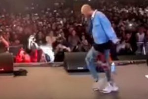 Jaden Smith Moonwalk At Rolling Loud