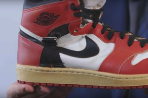 Air Jordan 1 Made For An Injured Michael Jordan