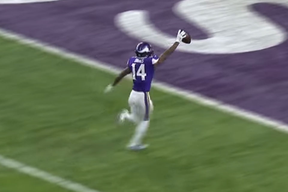 Stefon Diggs' Miracle TD Catch