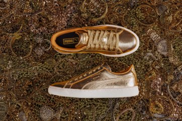 df7d177e122 PUMA Teams Up With Artist CJ Hendry to Launch Golden Suede