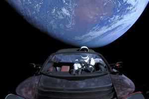 Astronomers Spot Elon Musk's Tesla Flying Through Space