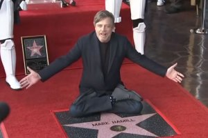 Mark Hamill Gets Star on Hollywood Walk of Fame