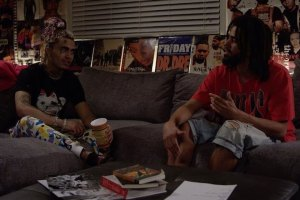 Lil Pump J. Cole Interview Each Other