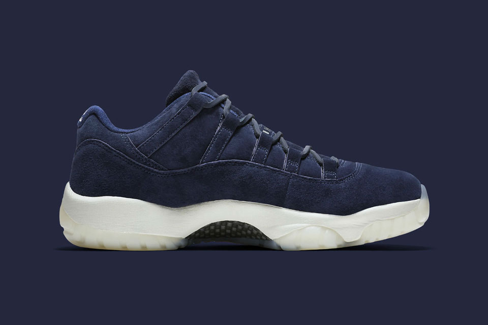 premium selection 1f891 d94d6 First Look at the Derek Jeter x Air Jordan 11 Low