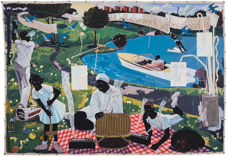 Kerry James Marshall - Past Times