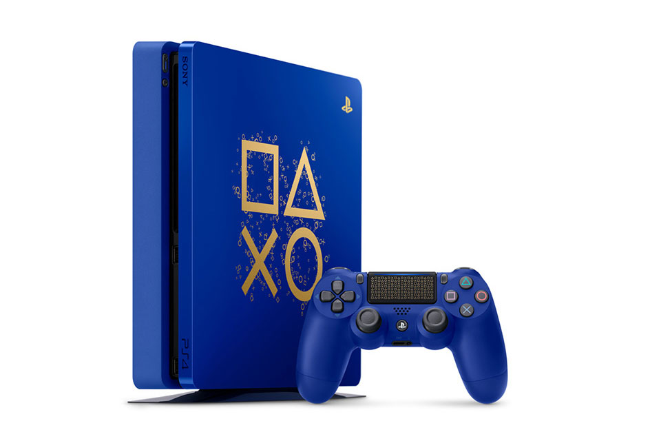 Sony Limited Edition Blue PS4 Days of Play Sale