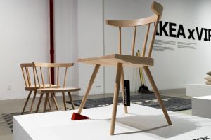 Virgil Abloh's IKEA Chair