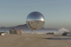 Giant Orb Installation Burning Man Festival