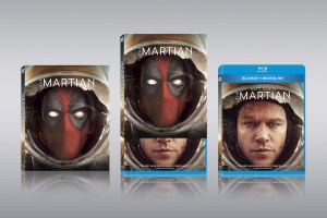 Deadpool Photobombs Movie Covers