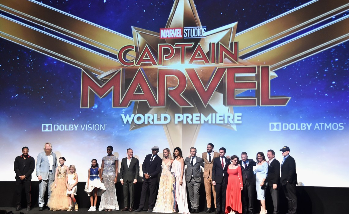 Los Angeles World Premiere Of Marvel Studios' Captain Marvel