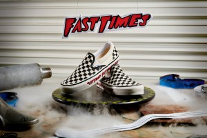 Vans Fast Times Checkerboard Slip-On