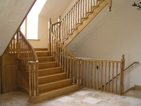 Flared Stairs 136