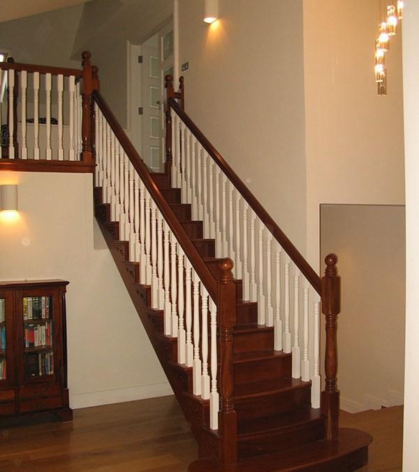Mahogany Stairs 126