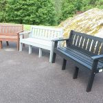 Colored Benches 104