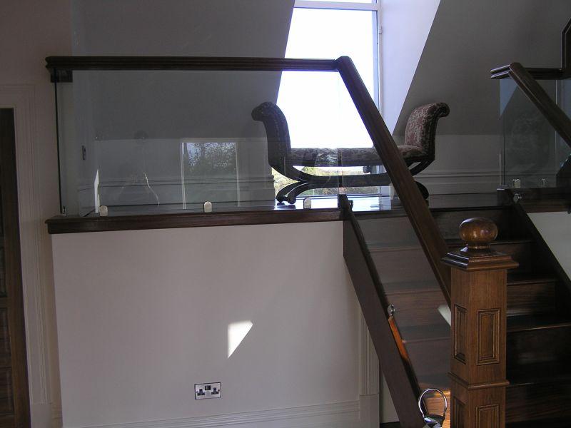 Walnut Balustrade 148