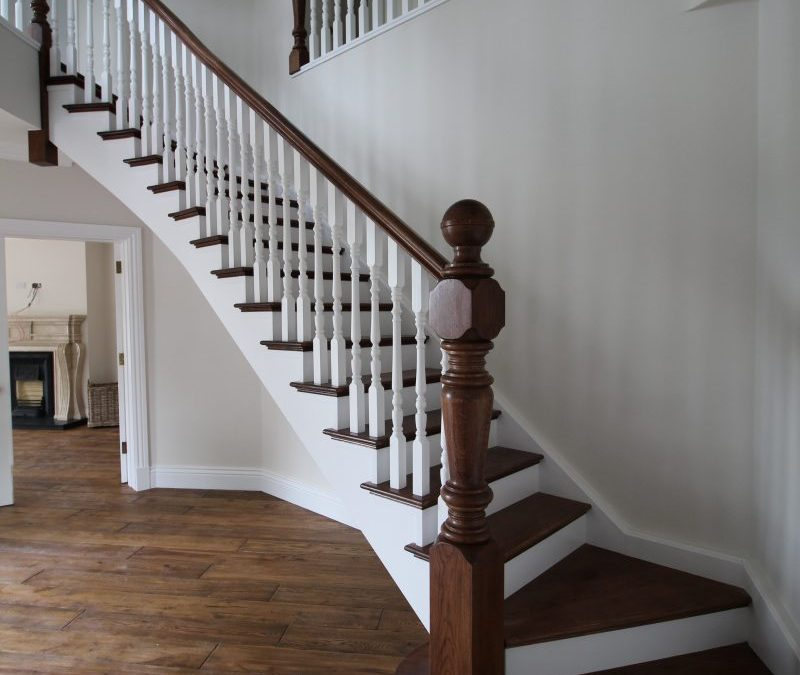 Curved Stairs 154
