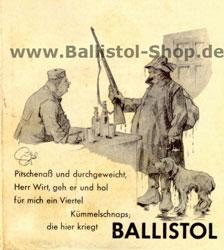 Ballistol historisches Poster