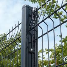 bekafix, post, betaview, betafence, nylofor, 3m, clear view, fencing, pvc, coated