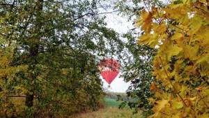 Rewe Ballon.Ballonfahrt Chemnitz Sachsen Zwickau Meerane Glauchau Crimmitschau