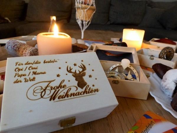 Weihnachts Geschenk Ballonfahrt Sachsen