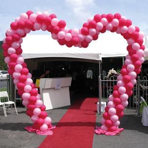 Ballonnenboog, hart
