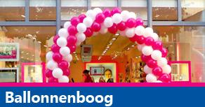 Ballonnendecoratie - ballonnenboog