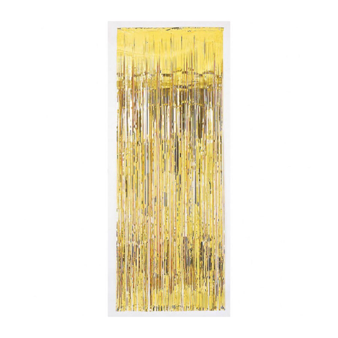 Rideau Metallique Or Luxe