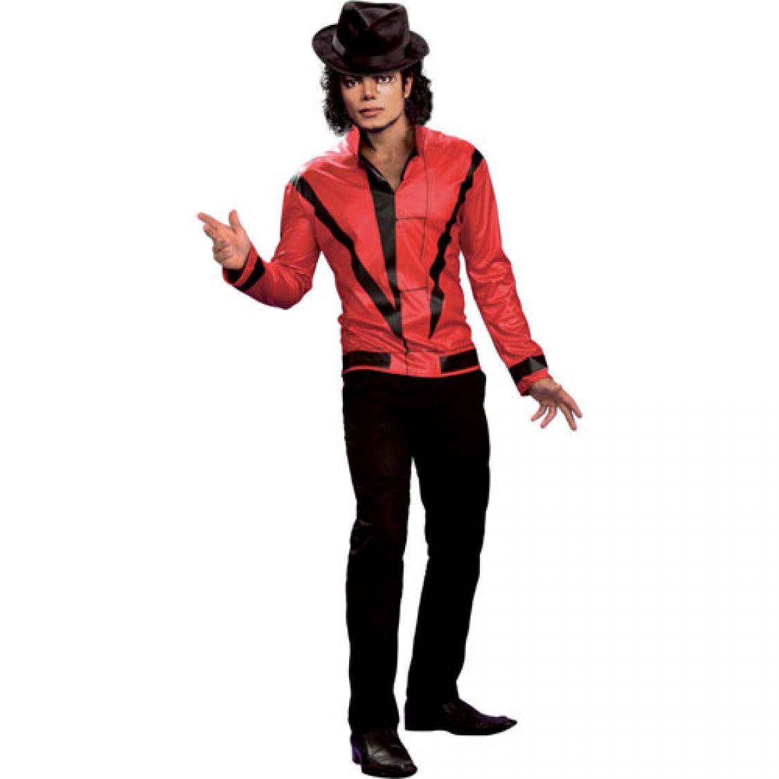 Veste Michael Jackson Rouge Homme