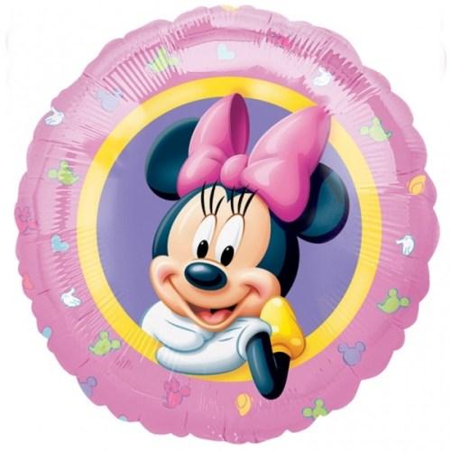 Μπαλόνι Minnie Mouse ροζ
