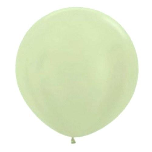 90cm - 36'' Σαμπανί περλέ μεγάλο μπαλόνι