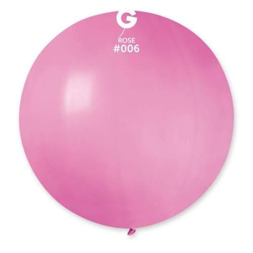 80cm - 31'' Ροζέ μεγάλο μπαλόνι