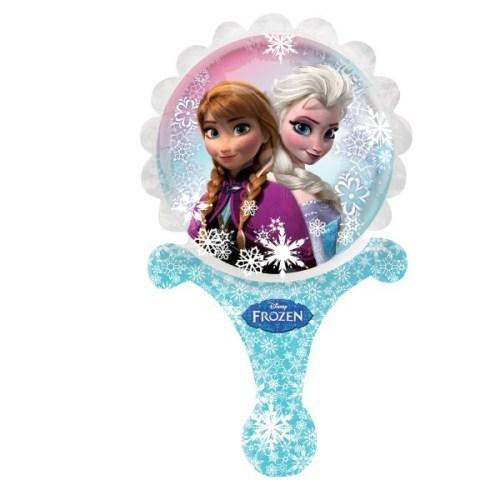 Μπαλονάκι Frozen Elsa & Anna με λαβή