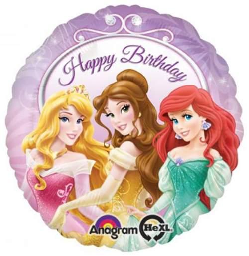 Μπαλόνι Happy Birthday Πριγκίπισσες Disney