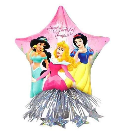 Μπαλόνι αστέρι Πριγκίπισσες Disney με βαρίδιο & κορδέλες