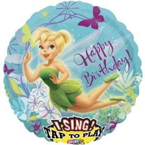 Μπαλόνι μουσικό Tinkerbell Happy Bday
