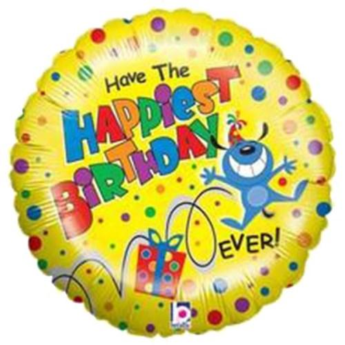 Μπαλόνι για γενέθλια Happiest Birthday