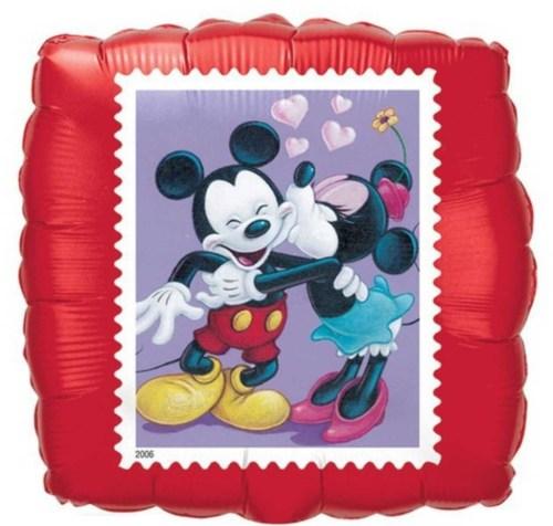 Μπαλόνι τετράγωνο Mickey & Minnie Mouse