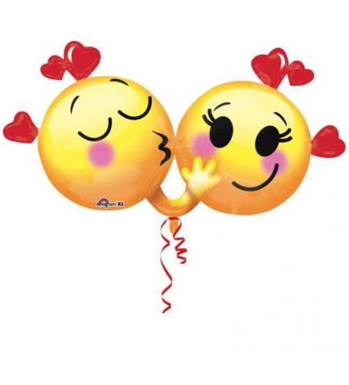 Μπαλόνι αγάπης Emoticons ερωτευμένα
