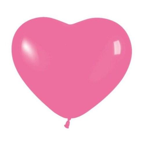 Μπαλόνι μικρό φούξια καρδιά
