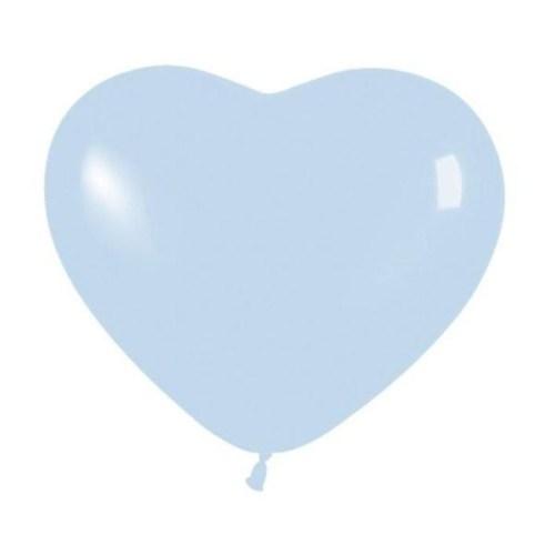 Μπαλόνι μικρό γαλάζια καρδιά