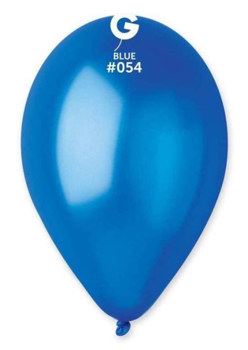 13'' Μεταλλικό Μπλε λάτεξ μπαλόνι