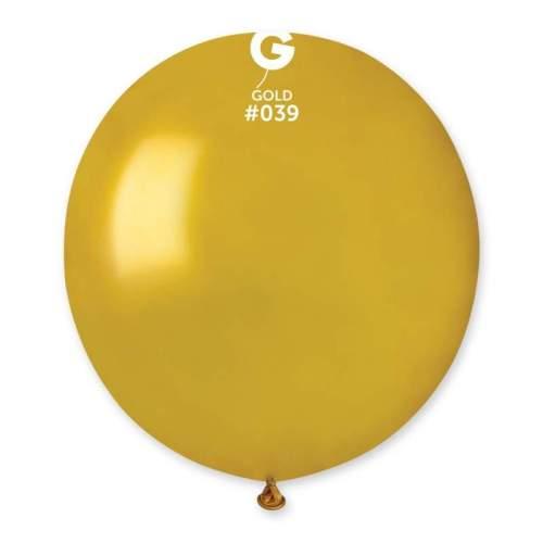 48cm - 19'' Χρυσό μεγάλο μπαλόνι
