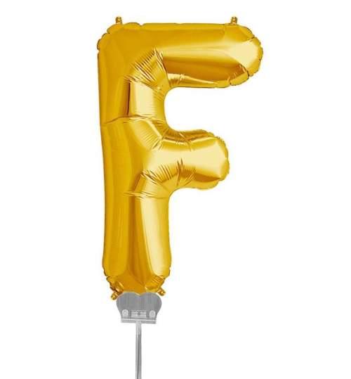 Μπαλονι 40 εκ Χρυσό Γράμμα F