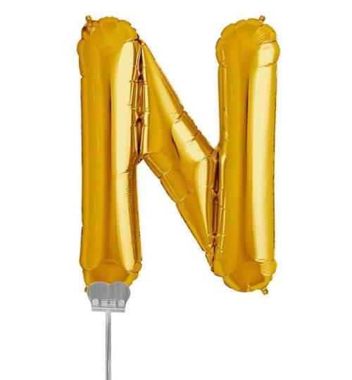Μπαλονι 40 εκ Χρυσό Γράμμα N